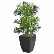 Luxury Multicolor  Paradise Palm Artificial Tree in Black Planter - 3.5 Ft. - $192.53
