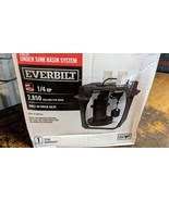 Everbilt 6 Gallon 1/4 HP Under Sink Basin System lift pump - $147.51