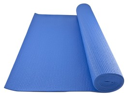 padded yoga mat, Gofit Blue Non-slip gym pilates home indoor exercise ma... - $727,54 MXN