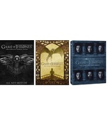 Game of Thrones Complete Sets Seasons 4-6 4 5 6 Four Five Six DVD 2016 New - $72.50