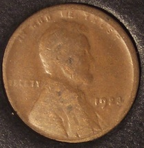 1923-S Lincoln Wheat Back Penny G4 #01071 - $3.39