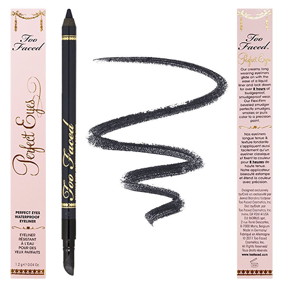 """Too Faced Perfect Eyes Waterproof Eyeliner """"Perfect Navy"""" Navy Blue 0.03 oz, used for sale  USA"""