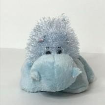 "Ganz Webkinz Hippo HM009 Plush Stuffed Animal Beanie Blue 8"" Long No Code - $18.69"