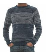 Michael Stars Men's 100% Cotton Knit Sweater, Large, Navy/ Heather Grey NWT - $25.00