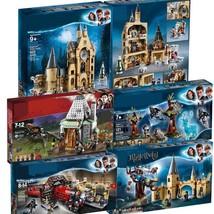 New Harri Potter Clock Tower Expecto Patronum Castle Building Block Bric... - $4.24+