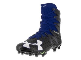 Under Armour UA Highlight MC Football Cleat Black/Blue 1269693-041 Vario... - $42.68