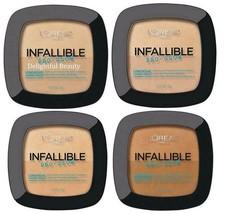 BUY 2 GET 1 FREE (Add 3) Loreal Infallible Pro Glow Long Wear Powder 26,... - $5.95