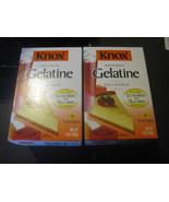 Knox Original Unflavored Gelatine 2-32 Count Boxes - $29.32