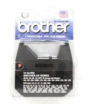 2 Pack Brother 1230 Black Correctable 1030 Film Ribbon  - $16.79