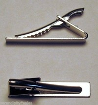 "96 Tie Bar Clips Silver Metal ~ Flat Surface 1.6"" long x .3"" wide ~ Stro... - $28.70"