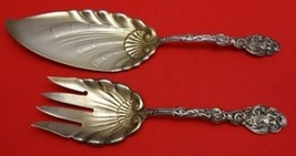 Versailles by Gorham Sterling Silver Fish Serving Set 2pc Gold Washed - $909.00