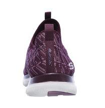Skechers Flex Appeal 2.0 Insights Plum Womens Slip On Walking Shoes 12765/PLUM image 5