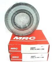 LOT OF 2 NIB MRC 309SFF BEARINGS RADIAL/DEEP GROOVE 45X100X25MM