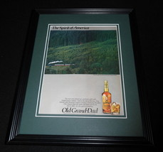 1984 Old Grand-Dad Bourbon Framed 11x14 ORIGINAL Vintage Advertisement - $32.36