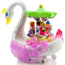 Toysery Musical Rotating Horses Carousel Music Box Toy for Kids | Baby T... - $28.68