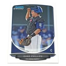 Mlb Dane Phillips San Diego Padres 2013 Bowman Chrome Baseball #BCP18 Nmnt - $1.07
