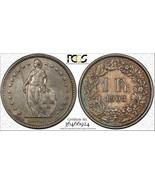 1903-B Switzerland 1 Franc PCGS AU55 Lot#G175 Silver - $117.67