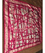 """Avon """" In it to End it"""" square breast cancer logo Pink Scarf New WOT - $8.16"""