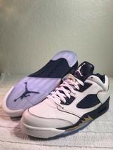 Nike Air Jordan 5 Retro Niedrig Dunk von Above Herren Größe 10 Neu 819171 135 - $149.23