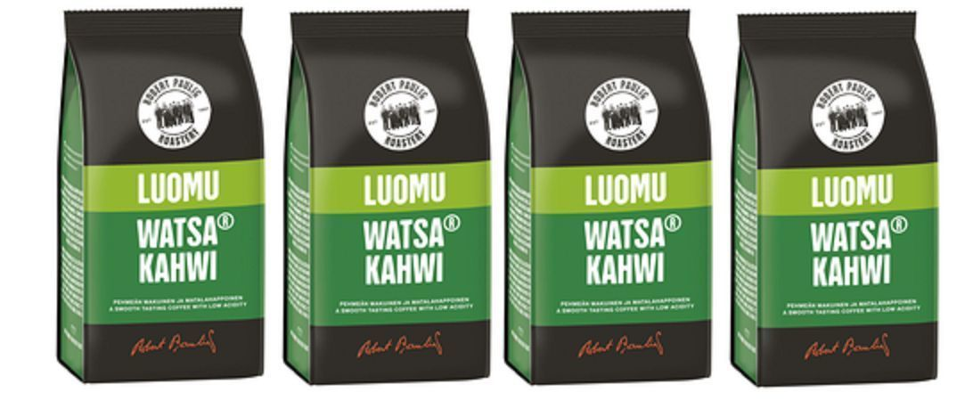 Primary image for Robert Paulig Organic Watsa-Kahwi Coffee 200g Ground x 4 packs