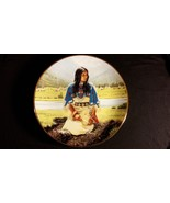 1991 Falling Star Noble American Indian Woman Vintage Collectors Edition... - $35.00