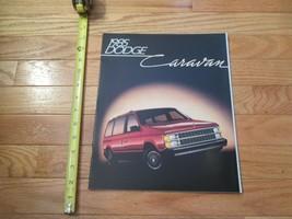 Dodge Caravan 1985 Car truck Dealer Showroom Sales Brochure - $9.99