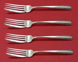 Candlelight by Towle Sterling Silver Fish Fork Set 4pc AS Custom Made 7 ... - $399.00