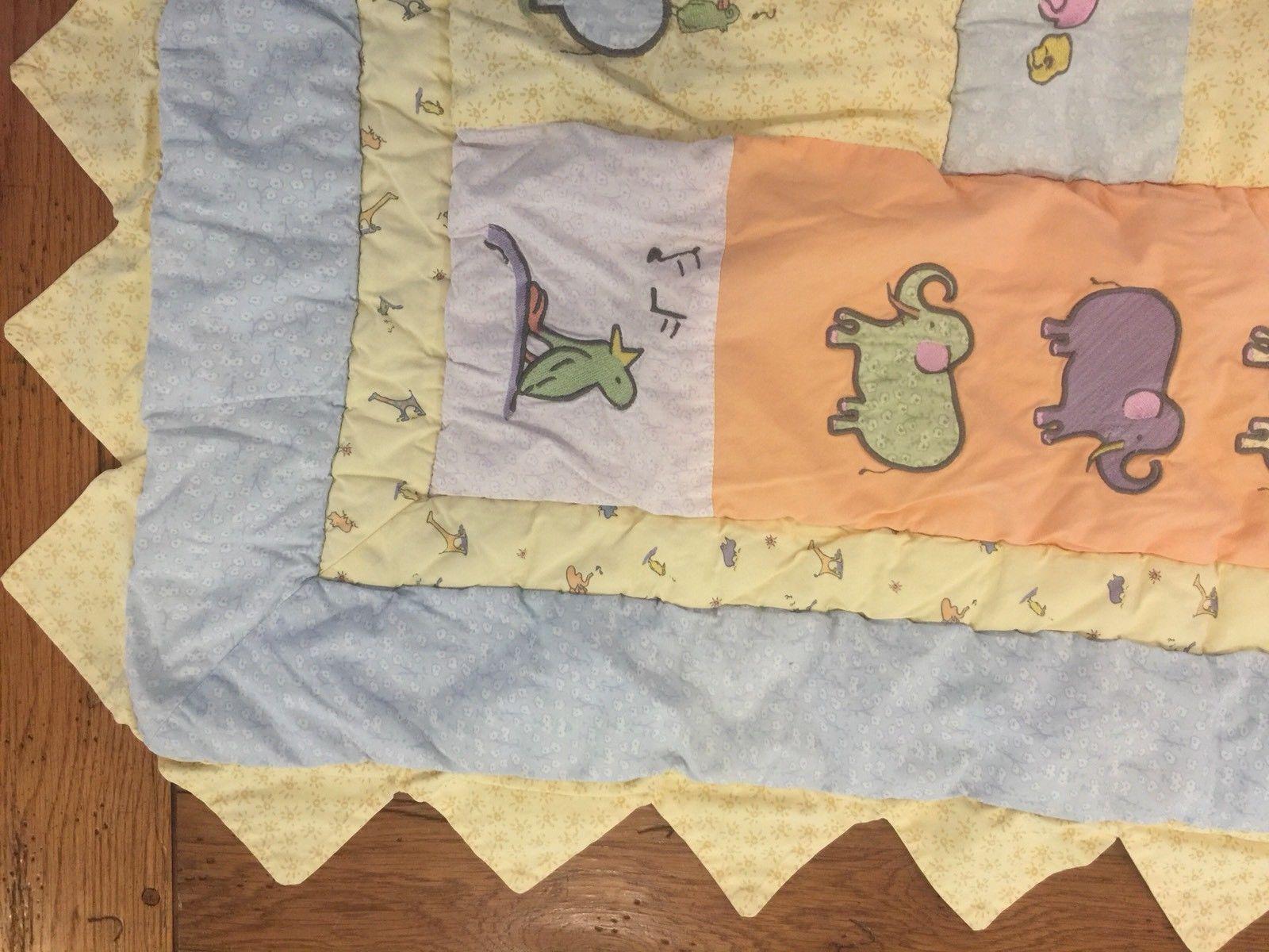 Carters Real Love John Lennon Baby Comforter Blanket Crib Quilt Animals (47)