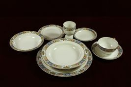 Crown Imperial China Clementine Rosaria Patented Czech  9 Piece  Place S... - €64,06 EUR