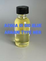 Acqua Di Gio Blue (Men) Type Fragrance Body Oil - $8.41+