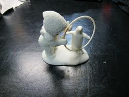Dept 56 Snowbabies I'LL TEACH YOU A TRICK Snowbaby with Penguin 68357 NO... - $44.99