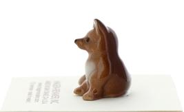 Hagen-Renaker Miniature Ceramic Figurine Fox Baby Pup image 2