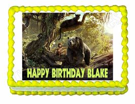 Jungle Book Edible Cake Image Cake Topper - $8.98+