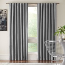 "NEW 2 Pack Room Darkening Window Panels in Gray 54"" x 84"" - $28.50"