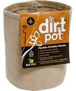 Hydrofarm HGDBT1 Tan 1 Gallon Dirt Pot, 1 gal - $9.79