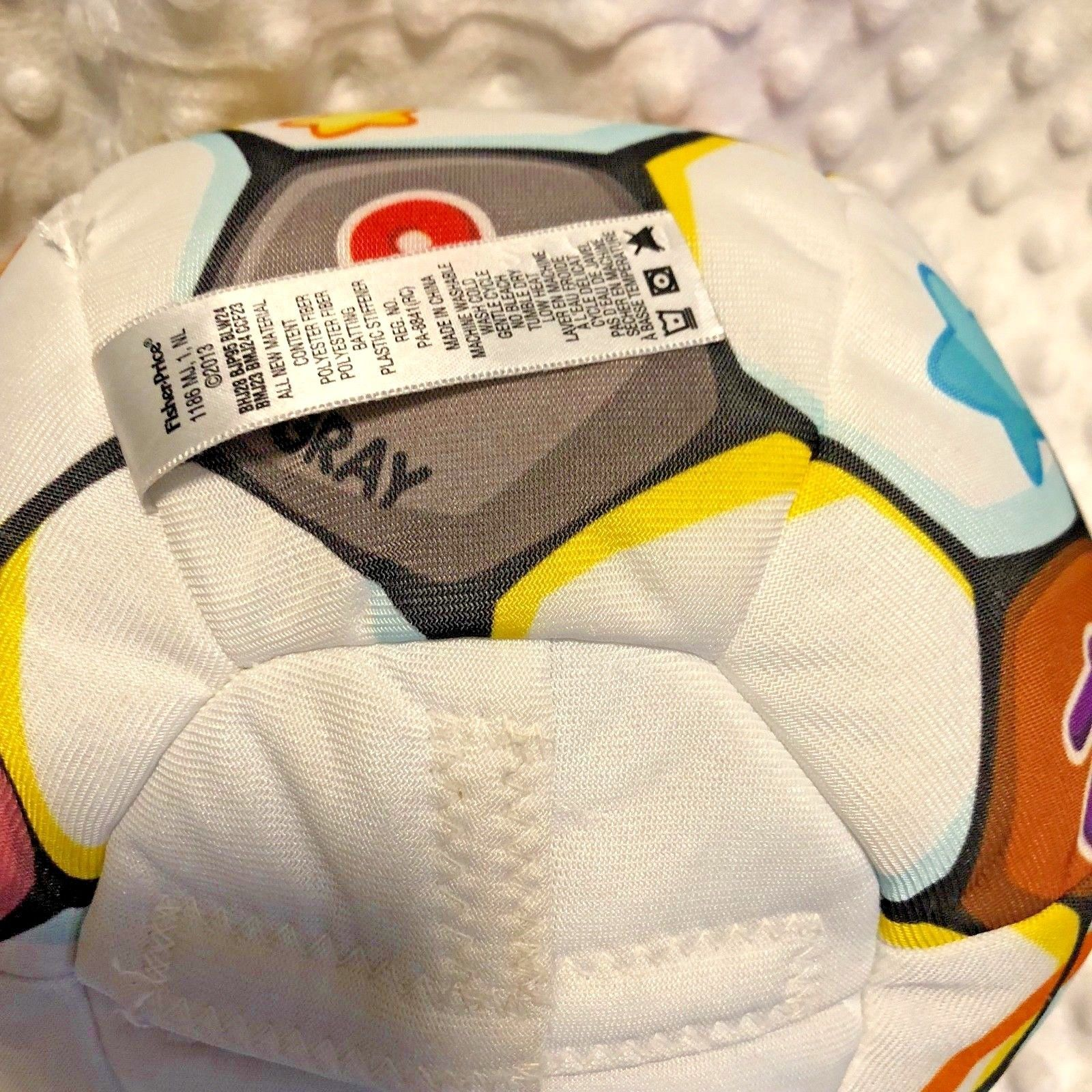 Fisher Price Laugh & Learn Singing Soccer Ball Ages 6 - 36 months White