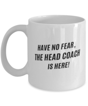 Funny Head Coach Coffee Mug - Head Coach Coffee Cup - 11oz white  - $19.95