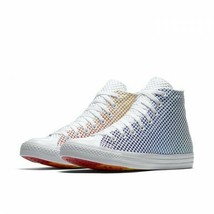 Mens Chuck Taylor All Star Pride Footwear Multi/White/White 158404C Size... - $59.99