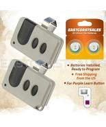 2 For Sears Craftsman 139.53753 Garage Door Opener Remote 315mhz 139.53985D - $19.36