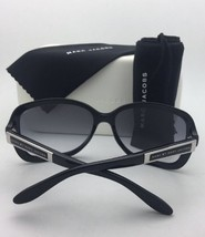 Polarized MARC By MARC JACOBS Sunglasses MMJ 355/S 5RN RA Black & Grey with Grey