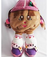 GUND Chocolate Chip Cookie with backpack, shoes, and hat Rare Vintage Ha... - $59.99