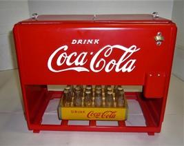 BEAUTIFUL ANTIQUE 1939 COCA-COLA KAY DISPLAY SALESMAN SAMPLE JR.COOLER W... - $2,800.00