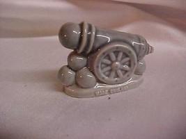 Vintage Whimsie Miniature Mini Wade England Canon Figurine - $4.99