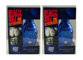 2x BOD Man Really Ripped Abs on Steroids  Mens Cologne Spray .7 oz  (Unboxed) - $8.90