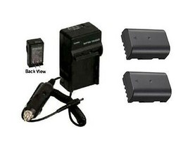 2X Batteries + Charger for Panasonic DC-GH5, DC-G5L, - $39.55