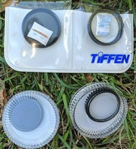 4 Camera Filters 37mm Sony/Tiffen UV ND 0.6/8 Clear w/Cases Pockets Phot... - $96.75