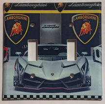 Lamborghini auto sport car Light Switch Power outlet Wall Cover Plate Home decor image 5