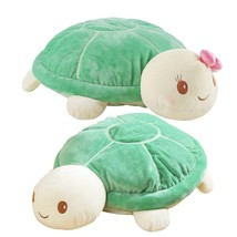 1pc 20cm Cute Tortoise Lovers Plush Animal Turtle Toys Baby Doll Nice Gi... - $11.40
