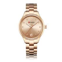 Curren Women's Steel Quartz Wrist Watch 9003 (Rose Gold) - $30.00