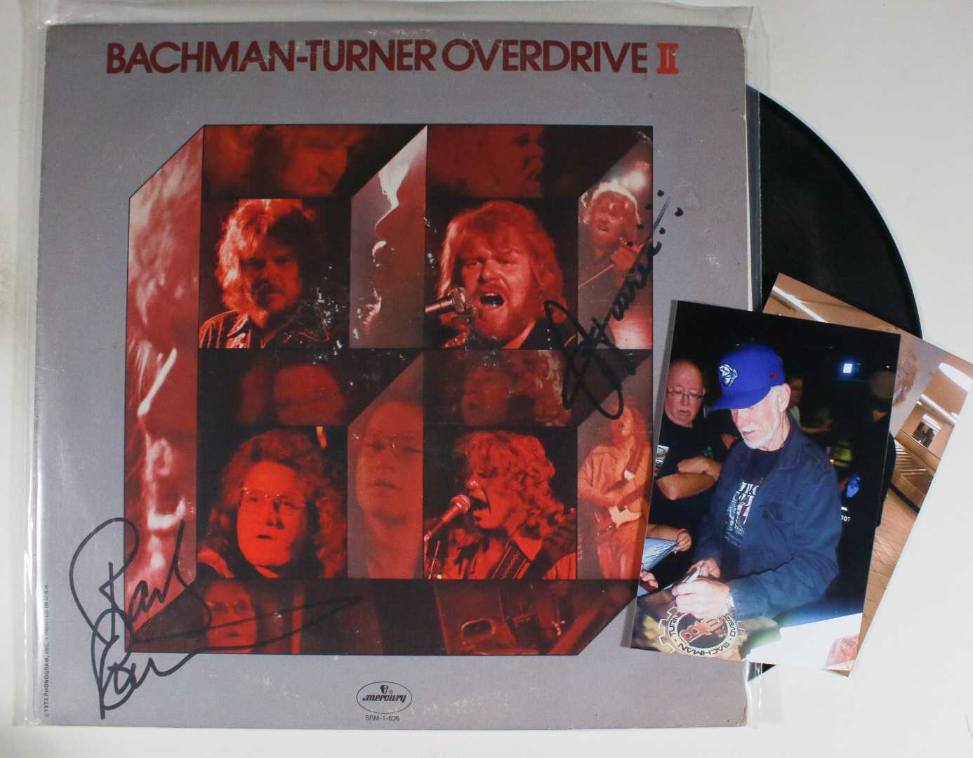 "Primary image for Randy Bachman & C.F. Turner Signed Autographed ""Bachman-Turner Overdrive"" Record"